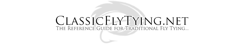 The Reference Guide for Traditional Fly Tying...