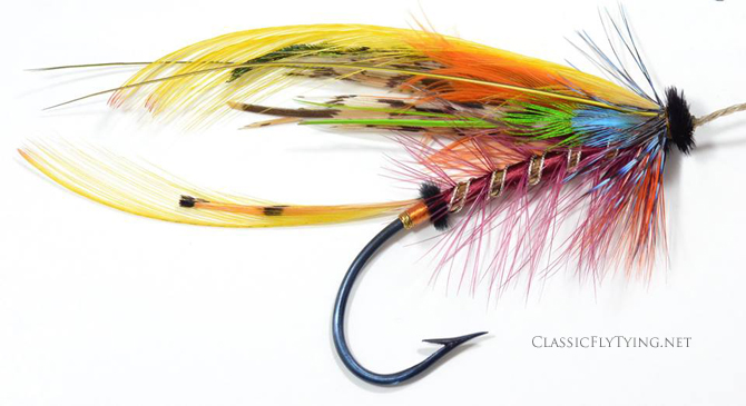 Blackers 1843 Shannon No. 9, tied by Alberto Calzolari...